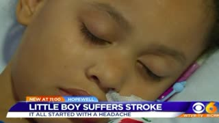 8-Year-Old Got a Headache Weeks After He Found Grandfather Dead - Video