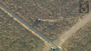 Robbery suspect carjacks vehicle during pursuit, crashes it... then steals a CHP car!