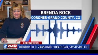 CORONER SPEAKS OUT ABOUT INFLATED COVID DEATHS
