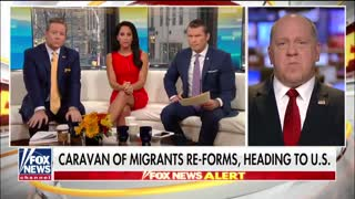 Former ICE chief applauds Trump' stand against migrant caravan - Video