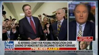 John Solomon explains why Barr decided to not prosecute Comey