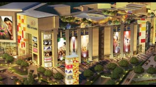 Galaxy Diamond Plaza Commercial Complex Greater Noida West - Video