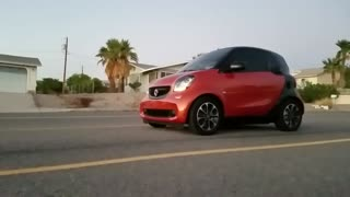 I did a Wheelie in my 2016 Smart Car