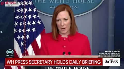 "Jen Psaki is ""circling back"" - compilation video"