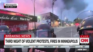 Black reporter and crew got arrested Minneapolis riot.