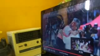 1year Baby crying while watching Viswasam movie climax
