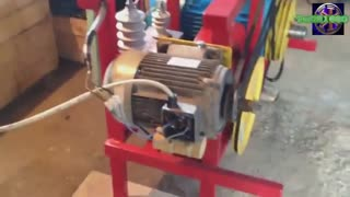 FREE ENERGY Motor Flywheel energy for freedom - Video