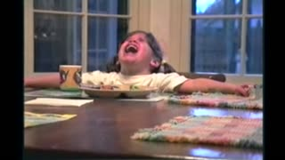 Sibling Rivalry: Little Girl Upset That Her Sister Keeps Interrupting Her Prayers - Video