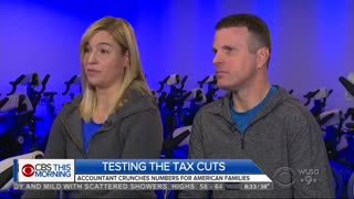 CBS Asked Three Different Families for Their Tax Returns - Video