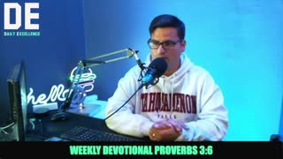 Weekly Devotional With Pastor Anthony From Daily Excellence