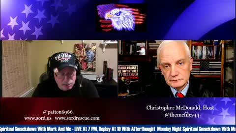 Mark Taylor on the McFiles 1-13-21