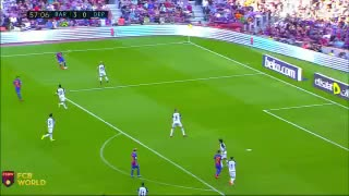 GOAL: Leo Messi scores after an unbelievable assist from Neymar - Video