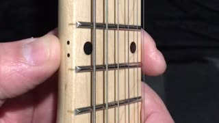 Learning Guitar, Starting At The 12th Fret, Or Octave