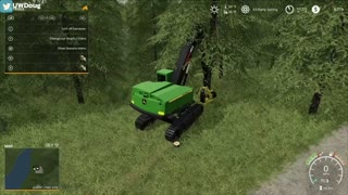 FS19 - Episode #1 - Willamina Forest - And it Begins