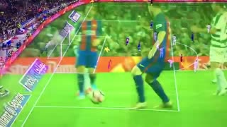 Messi cheeky backheel goal - Video