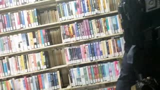 Police Arrest Man in Library