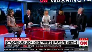 CNN Slams Trump Critics and Praises Him For Open Meeting to the Press — He's 'In Command' - Video
