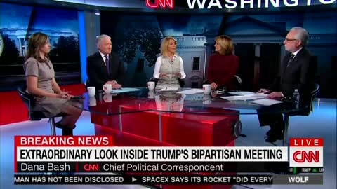 CNN Slams Trump Critics and Praises Him For Open Meeting to the Press — He's 'In Command'