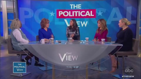 Whoopi Confronts AOC Over Comments About Older Democrats