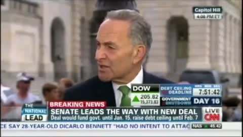 Sen. Schumer Threatens to Shut Down the Gov. Over Immigration