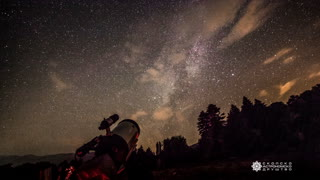 Stunning Milky Way timelapse captured in Macedonia  - Video