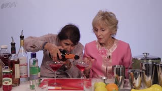 Grandmas Show You How To Make A Cosmopolitan - Video