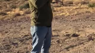 Shooting an Anderson AR-15 in the Arizona Desert