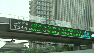 Shanghai shares plunge but other Asia Pacifc markets recover