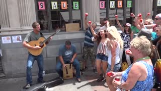 Shooting A Music Video At CMA Fest 2015 | 2 Steel Girls