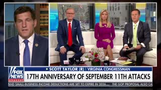 Republican Rep. Scott Taylor speaks of 9/11 and his reenlisting