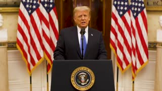 President Donald J. Trump's farewell address to the US nation