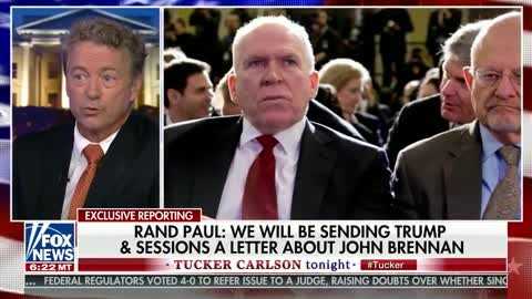 Rand Paul: Very 'alarming' that 'unhinged' John Brennan might have security clearance