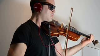 Spectacular violin cover of 'Wonderful Life' by Hurts