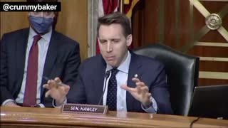 Senator Hawley talks voter fraud and democrat hypocrisy