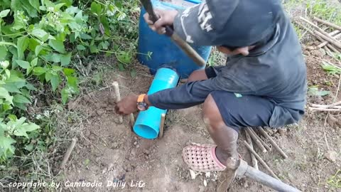 The First Creative Snake Trap That Works 100% by Smart Boy