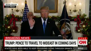 Trump Officially Recognizes Jerusalem as Capital of Israel 2 - Video