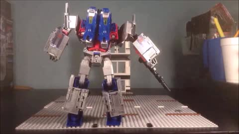 STOPMOTION CiiC TF Power of the Primes Optimus Prime