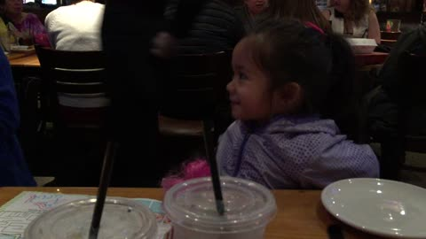 Sugar-free toddler drinks apple juice on empty stomach, goes INSANE