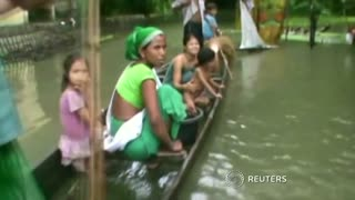 Monsoon rains devastate east India - Video