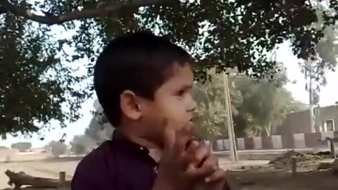 very funny interview of this punjabi kid in punjabi soo cute