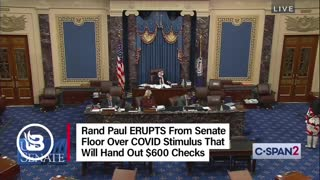 Rand Paul rips the stimulus bill
