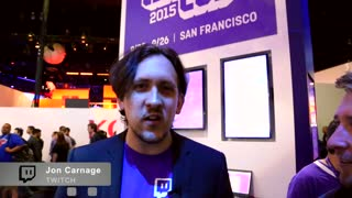 Jon Carnage from Twitch gives Waka Flocka Flame a shoutout - Video