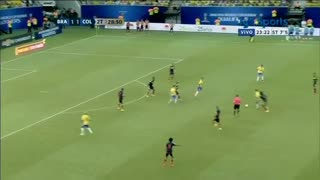 VIDEO: Neymar scores the winning gola vs Colombia - Video