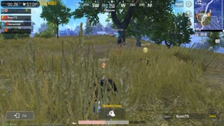 3 vs 1 Player In Last 4 Standing Match With Chicken Dinner In Pubg