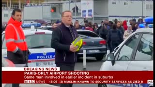 Attack on Orly Airport BBC News 18 Mar 2017 - Video