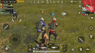 Pubg Mobile Game Team Mate Throwing Bomb to His Team inside car Moving