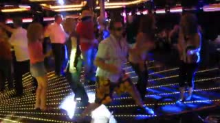 Bailey Dancing on the Cruise