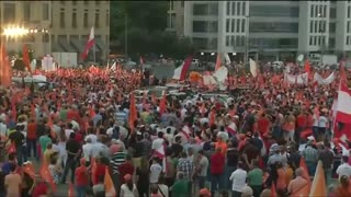 Scores rally in Beirut after calls for presidential election - Video