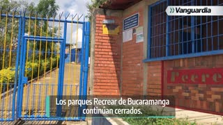 Estado de los parques Recrear en Bucaramanga