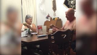 Grandparents Have Adorable Reaction to Big News